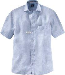 casual shirt korte mouw modern fit streep 412672