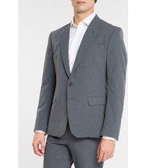 blazer masculino cinza mescla - 46