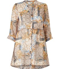 långskjorta jruilurevea 3/4 sleeve long shirt