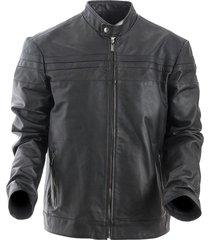 chaqueta spartak negro bosi