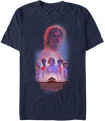 fifth sun men's stranger things billy starcourt group poster short sleeve t-shirt