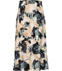 lusia knälång kjol multi/mönstrad mbym