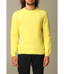 eleventy sweater eleventy crewneck pullover in brushed wool