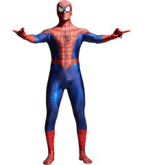 yosinacos spider-man lycra spandex adult zentai 3d cosplay costume full bodysuit