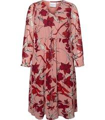 midi jurk bloemenprint