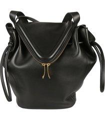 bottega veneta dual zip shoulder bag