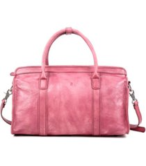 old trend santa clara leather satchel bag