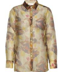 imaniiw shirt långärmad skjorta multi/mönstrad inwear