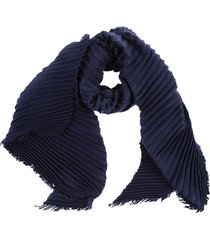 destin surl pleated scarf