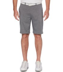 pga tour men's big and tall heathered golf shorts