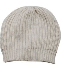 brunello cucinelli english rib hat embellished with cashmere and silk micro sequins
