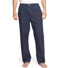 men's polo ralph lauren cotton pajama pants, size x-large - blue