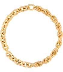 bottega veneta chunky chain necklace - gold
