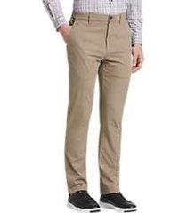 cole haan grand.s tan modern fit pants