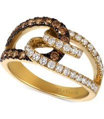 le vian chocolatier diamond (7/8 ct. t.w.) ring in 14k gold