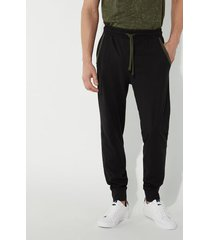 pantalone lungo in jersey tasche profilate