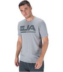 camiseta under armour sportstyle ss - masculina - cinza