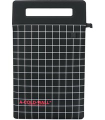 a-cold-wall* square print tote bag - black