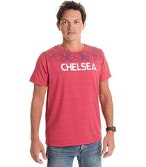 camiseta chelsea vermelha - kanui