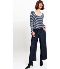 spodnie z grubego jeansu
