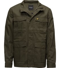 field jacket dun jack groen lyle & scott