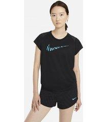 overhemd nike camiseta manga corta running mujer cz9545