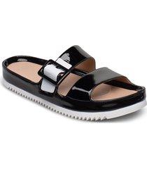 w cooper shoes summer shoes flat sandals svart ugg