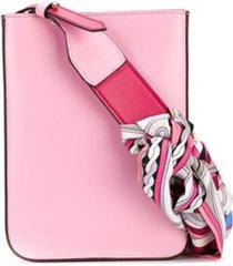 emilio pucci bolsa tiracolo occhi and wally - rosa