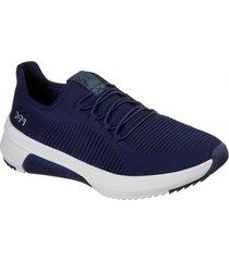 zapatilla modern jogger 2.0 - burroughs azul marino skechers