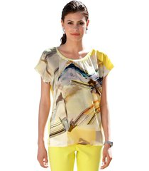 shirt amy vermont geel::multicolor