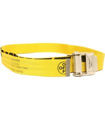 off-white yellow 2.0 industrial belt