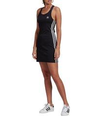 women's adidas originals racerback dress, size small - black