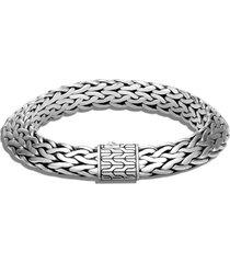 'classic chain tiga' sterling silver bracelet