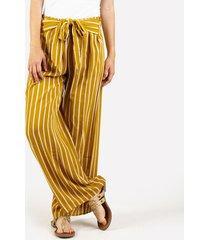 pantalones amarillo derek 817719