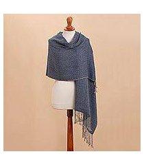 100% alpaca shawl, 'elegant girl' (peru)