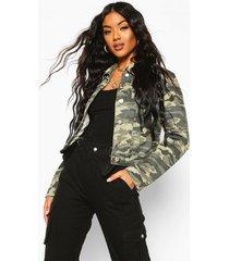 camouflage jean jacket, khaki