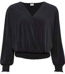 maglia a portafoglio (nero) - bodyflirt