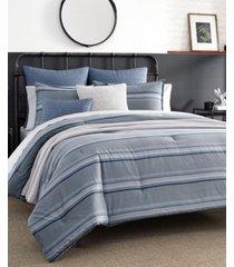 nautica jeans co eastbury full/queen duvet set bedding