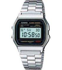 reloj a-158wa-1d casio plateado