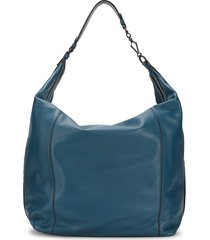 bottega veneta women's leather shoulder bag - blue