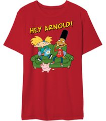hey arnold couch men's graphic t-shirt