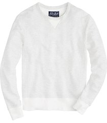 white sweatshirt saint barth
