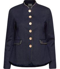 clara pin blazer blazer colbert blauw mos mosh
