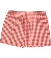 boxer naranja-blanco colore