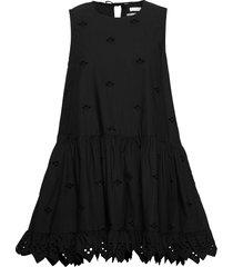 2nd esther thinktwice jurk knielengte zwart 2ndday