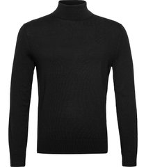 italian merino turtleneck sweater knitwear turtlenecks zwart banana republic