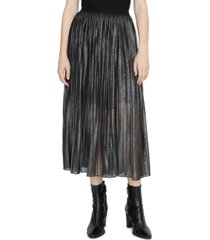 sanctuary timeless pleated midi skirt