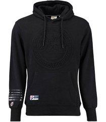 hoodie expedition zwart