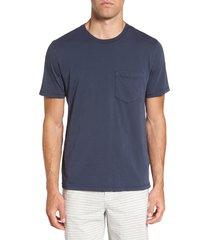 men's billy reid standard fit crewneck t-shirt, size xx-large - blue