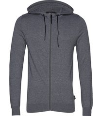 drogo knit hoodie trui grijs matinique